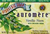 Buy Ayurvedic Bar Soap Vanilla-Neem 2.75 oz Auromere Online, UK Delivery,