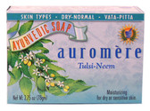 Buy Ayurvedic Bar Soap Tulsi-Neem 2.75 oz Auromere Online, UK Delivery, Vegan Cruelty Free Product
