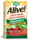 Buy Alive! Organic Vitamin C 120 vegicaps Nature's Way Online, UK Delivery, Vitamin C Acerola