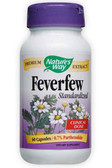 Buy Feverfew Standardized 60 Caps Nature's Way Migraines Online, UK Delivery, Herbal Remedy Natural Treatment
