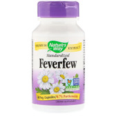 Buy UK Feverfew Standardized 60 Caps Nature's Way Migraines Online, UK Delivery