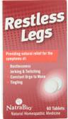 Buy UK Restless Legs 60 Tabs, Natra Bio, UK Shop