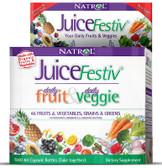 Buy JuiceFestiv 60+60= 120 Caps Natrol Fruit Veggie Super Food Online, UK Delivery, Superfoods Green Food