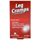 Buy UK Leg Cramps 60 Tabs, Natra Bio