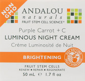 Buy Purple Carrot + C Luminous Night Cream 1.7 oz Andalou Online, UK Delivery, Night Creams Vegan Cruelty Free Product