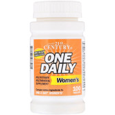 Buy One Daily Women's 100 Tabs 21st Century Health Online, UK Delivery, Multivitamins For Women