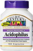 Buy Acidophilus High-Potency 100 Caps 21st Century Health Online, UK Delivery, Probiotics Acidophilus