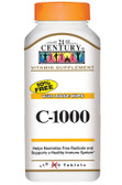 Buy C-1000 with Rose Hips 1000 mg 110 Caplets 21st Century Health Online, UK Delivery, Vitamin C Rose Hips