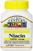 Buy Niacin 100 mg 110 Tabs 21st Century Online, UK Delivery, Vitamin B3 Niacin