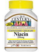 Buy Niacin 250 mg 110 Tabs 21st Century Health Online, UK Delivery, Vitamin B3 Niacin