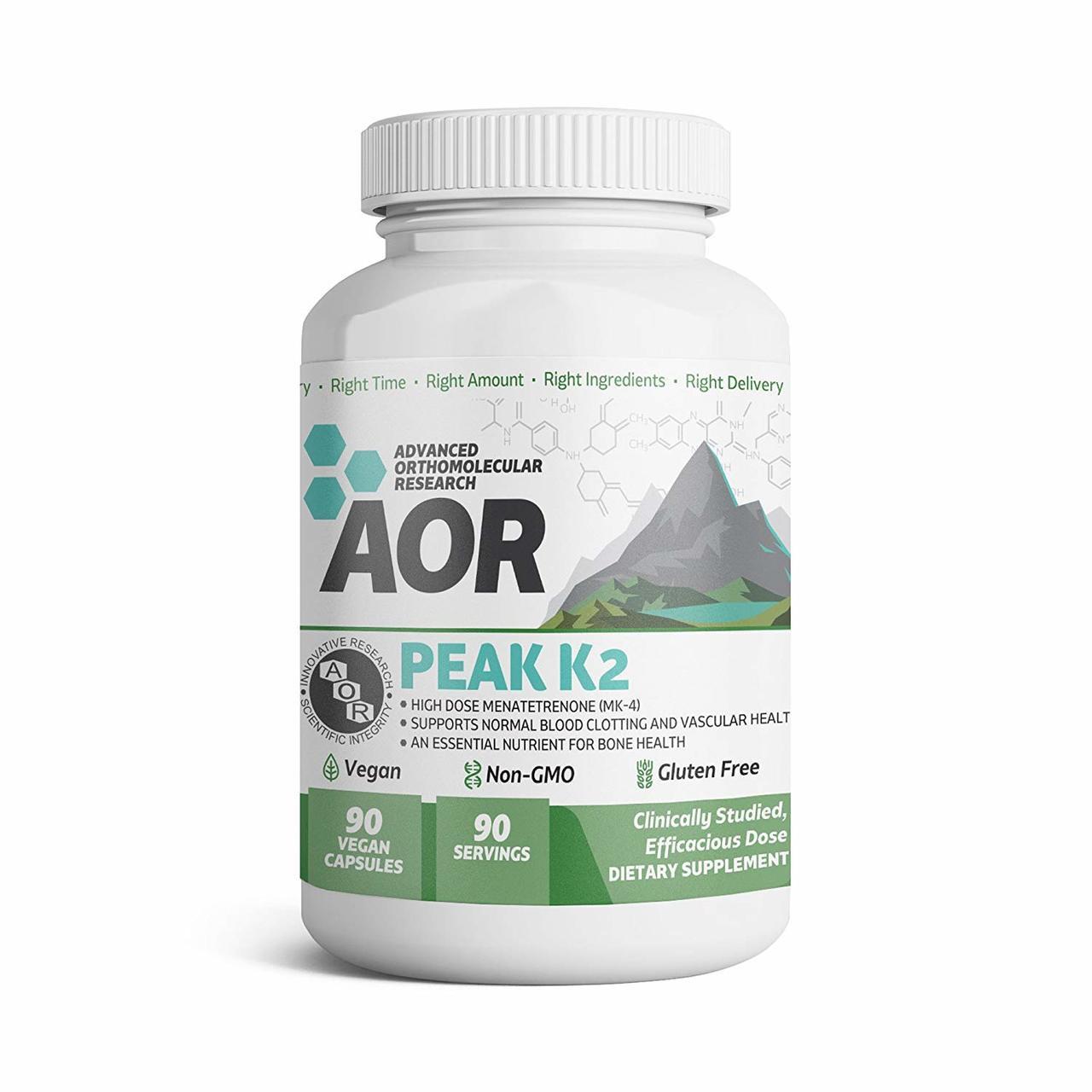 Buy Peak K2 Advanced Series 90 Caps, Orthomolecular Research