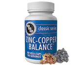 Buy Classic Series Zinc-Copper Balance 100 Veggie Caps Advanced Orthomolecular Research AOR Online, UK Delivery, Mineral Supplements