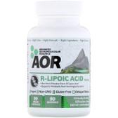 Buy R-Lipoic Acid R(+)-1 2-Dithiolane-3-Pentanoate, 90 Caps, AOR