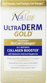 Buy UltraDerm Gold Collagen Booster 60 Caps Ageless Foundation Laboratories Online, UK Delivery, Women's Supplements Vitamins For Women Hyaluronic Acid