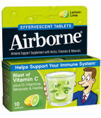 Buy Effervescent Tabs Lemon-Lime 10 Tabs AirBorne Online, UK Delivery, Effervescent