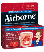 Buy Effervescent Tabs Very Berry 10 Tabs AirBorne Online, UK Delivery, Cold Flu Remedy