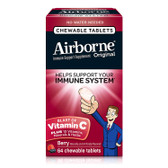 Buy Chewable Tabs Berry 64 Chewable Tabs AirBorne Online, UK Delivery, Cold Flu Remedy Relief Immune Support Formulas