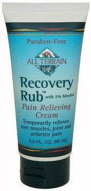 Buy Recovery Rub Pain Relieving Cream 3.0 oz (90 ml) All Terrain Online, UK Delivery, Herbal Natural Treatment Remedy
