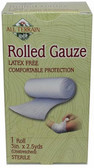 Buy Rolled Gauze 1 Roll 3 in X 2.5 yds (Unstreched) All Terrain Online, UK Delivery, Injuries Burns injury treatment Aches Pains