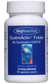 QuatreActiv Folate 4th Generation 5-MTHF 90 Caps Allergy Research, UK
