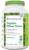 Buy Organic Wheat Grass Tabs 1000 mg 200 Tabs Amazing Grass Online, UK Delivery, Gluten Free Green Foods Superfoods