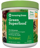 Buy Green Super Food All Natural Drink Powder 8.5 oz (240 g) Amazing Grass Online, UK Delivery, Superfoods Green Food