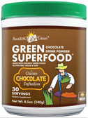 Buy Green SuperFood Chocolate Drink Powder 8.5 oz (240 g) Amazing Grass Online, UK Delivery, Superfoods Green Food