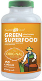 Buy Green SuperFood 650 mg 150 Caps Amazing Grass Online, UK Delivery, Superfoods Green Food