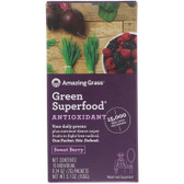 Buy Green SuperFood Antioxidant Berry Drink Powder 15 Individual Packets 7 g Each Amazing Grass Online, UK Delivery, Superfoods Green Food