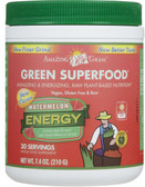 Buy Green Superfood Energy Watermelon 7.4 oz (210 g) Amazing Grass Online, UK Delivery, Superfoods Green Food