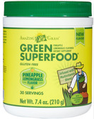 Buy Green Superfood Pineapple Lemongrass Flavored 7.4 oz (210 g) Amazing Grass Online, UK Delivery, Superfoods Green Food