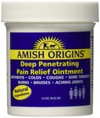 Buy Deep Penetrating Pain Relief Ointment 3.5 oz (99.22 g) Amish Origins Online, UK Delivery, Arthritis Formulas Relief Treatment bursitis tendonitis