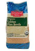 Buy Organic Golden Flax Seeds 14 oz (396 g) Arrowhead Mills Online, UK Delivery,