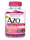 Buy Cranberry Gummies Mixed Berry Flavor 72 Gummies Azo Online, UK Delivery, Urinary Tract Health incontinence Treatment bladder control supplements