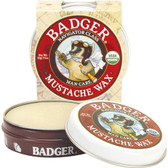 Buy Organic Mustache Wax Man Care .75 oz (21 g) Badger Company Online, UK Delivery, Men's Personal Care For Man