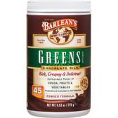 Buy Greens Supplement Powder Formula Chocolate Silk 9.52 oz (270 g) Barlean's Online, UK Delivery, Superfoods Green Food