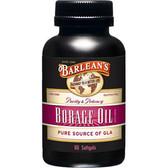 Buy Borage Oil 1000 mg 60 sGels Barlean's Online, UK Delivery, EFA Omega EPA DHA