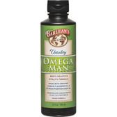 Buy Organic Oils Omega Man Men's Health & Vitality Formula 12 oz (350 ml) Barlean's Online, UK Delivery, EFA Omega EPA DHA