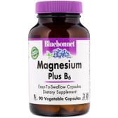 Buy Magnesium Plus B6 90 Vcaps Bluebonnet Nutrition Online, UK Delivery, Vitamin B6 Pyridoxine