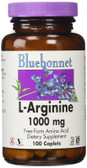 Buy L-Arginine 1000 mg 100 Caplets Bluebonnet Nutrition Online, UK Delivery, Amino Acid