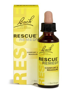 Rescue Remedy 10 ml, Bach Flower Essences, Homeopathic Stress Relief