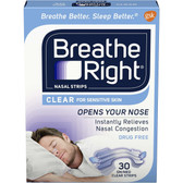 Nasal Strips Sm/Med 30Strips Breathe Right, UK