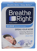 Buy Nasal Strips Clear for Sensitive Skin 30 Large Strips Breathe Right Online, UK Delivery, Sleep Support Snoring Aids