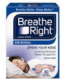 Buy Nasal Strips Original Tan Sm/Med 30 Strips Breathe Right Online, UK Delivery, Sleep Support Snoring Aids