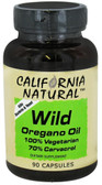 Buy Wild Oregano Oil 90 Caps California Natural Online, UK Delivery,