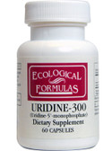 Buy Ecological Formulas Uridine-300 60 Caps Cardiovascular Research Online, UK Delivery, Attention Deficit Disorder ADD ADHD Brain Support