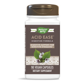 Acid-Ease, 90 Caps, Enzymatic, Nature's Way, Digestive Support