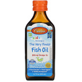 Buy The Very Finest Fish Oil For Kids Orange 6.7 oz (200 ml) Carlson Labs Online, UK Delivery, EFA Omega EPA DHA
