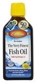The Very Finest Fish Oil Norwegian Lemon 6.7 oz (200 ml) Carlson Labs, UK Store