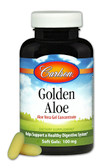 Buy Golden Aloe Aloe Vera Gel Concentrate 180 sGels Carlson Labs Online, UK Delivery,